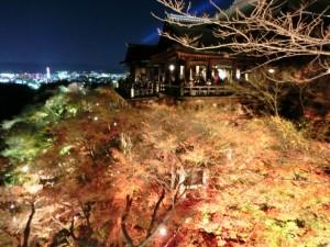 清水寺夜間