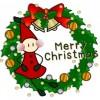 クリスマスリースを手作りで!材料は布や毛糸で簡単に!